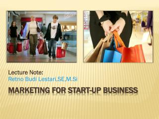 Marketing for start-up business