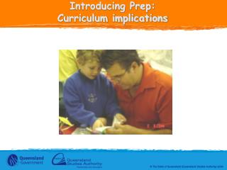Introducing Prep: Curriculum implications