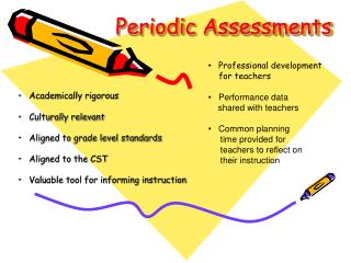Periodic Assessments