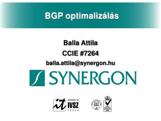 BGP optimalizálás