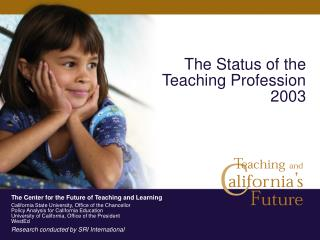 The Status of the Teaching Profession 2003