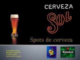Spots  de cerveza