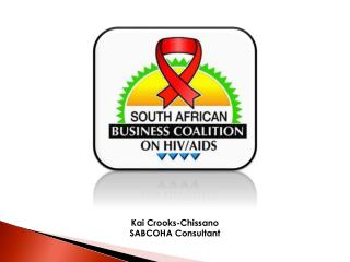 Kai Crooks-Chissano SABCOHA Consultant