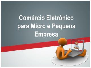 Comércio Eletrônico para Micro e Pequena Empresa