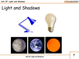 Unit 3F: Light and Shadows