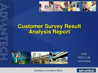 Customer Survey Result Analysis Report