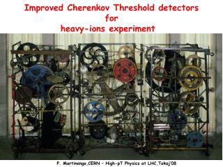 Improved Cherenkov Threshold detectors  for  heavy-ions experiment