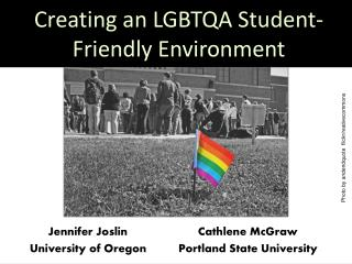 Creating an LGBTQA Student-Friendly Environment