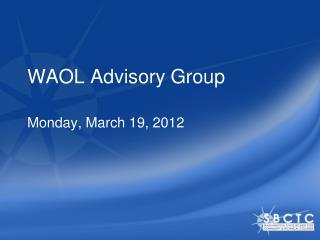 WAOL Advisory Group
