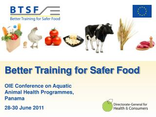 Better Training for Safer Food