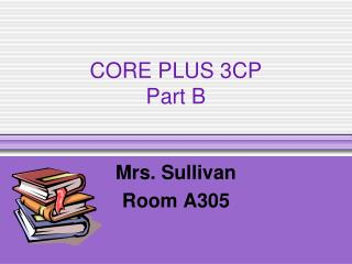 CORE PLUS 3CP  Part B