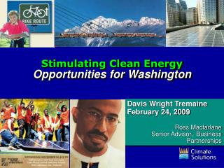 Stimulating Clean Energy Opportunities for Washington