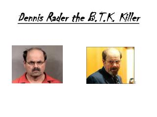 Dennis Rader the B.T.K. Killer