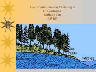 Lead Contamination Modeling in Groundwater Guifang Tan EWRE
