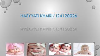 HASYYATI KHAIRI/  I24120026