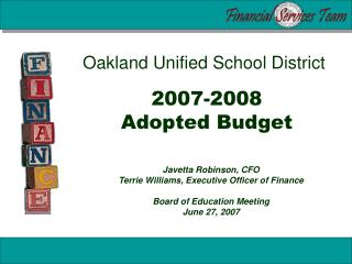 2007-2008 Adopted Budget