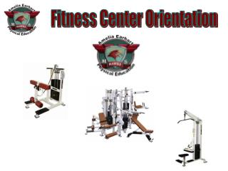 Fitness Center Conduct: