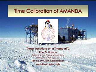 Time Calibration of AMANDA
