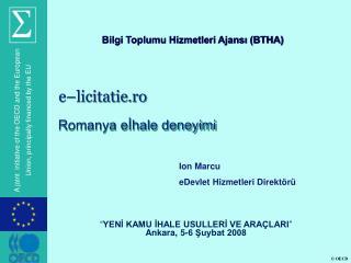 e–licitatie.ro Romanya eİhale deneyimi