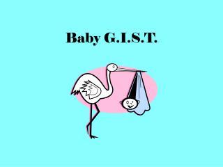 Baby G.I.S.T.