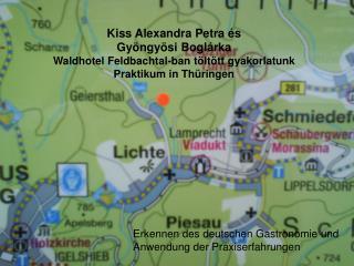 Erkennen des deutschen Gastronomie und  Anwendung der Praxiserfahrungen