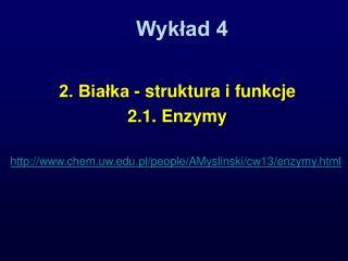 Wykład 4