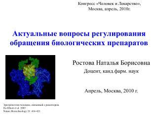 Актуальные вопросы регулирования обращения биологических препаратов