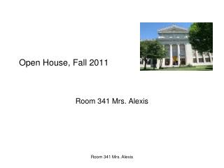 Open House, Fall 2011