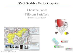 SVG: Scalable Vector Graphics
