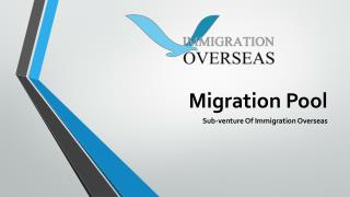 Avail complete visa for Canada assistance by Migration Pool