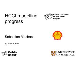 HCCI modelling progress