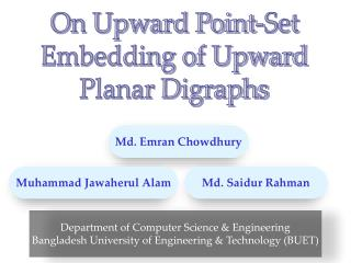 On Upward Point-Set Embedding of Upward Planar Digraphs