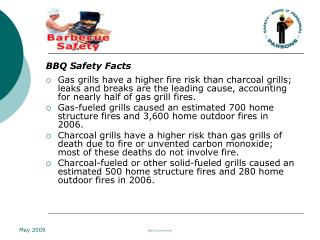 BBQ Safety Facts