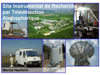 Site Instrumental de Recherche par Télédétection Atmosphérique