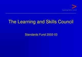 Standards Fund 2002-03