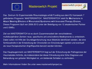 Masterswitch Projekt
