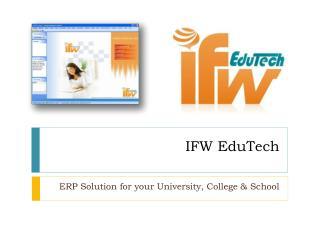 IFW EduTech