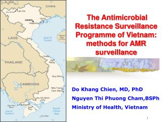 The Antimicrobial Resistance Surveillance Programme of Vietnam: methods for AMR surveillance