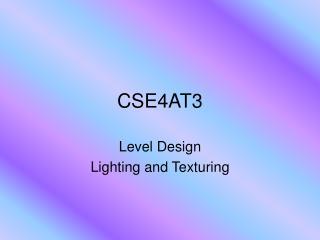 CSE4AT3
