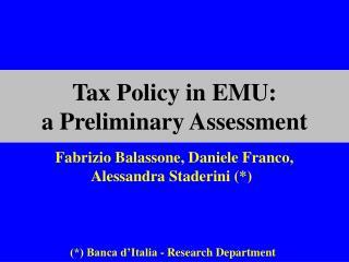 Fabrizio Balassone, Daniele Franco, Alessandra Staderini (*)