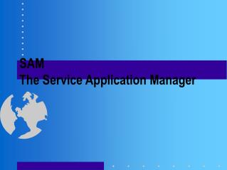 SAM The Service Application Manager