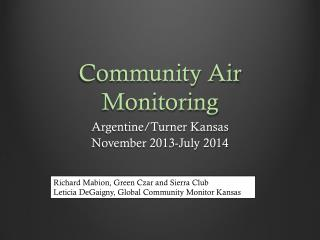 Community Air Monitoring