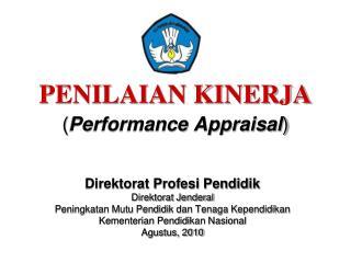PENILAIAN KINERJA ( Performance Appraisal )