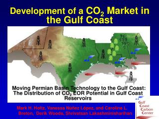 Development of a  CO 2  Market in the Gulf Coast