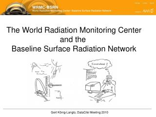 The World Radiation Monitoring Center and the  Baseline Surface Radiation Network