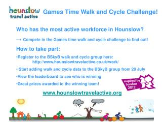 Who has the most active workforce in Hounslow?