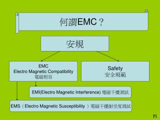 何謂 EMC ?