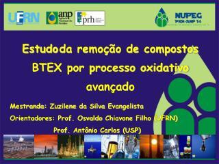 Estudo da remoção de compostos BTEX por processo oxidativo avançado