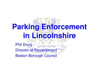 Parking Enforcement in Lincolnshire
