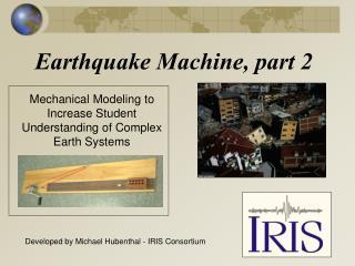 Earthquake Machine, part 2